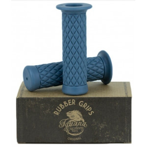 CHESTER RUBBER GRIPS BLUE -...