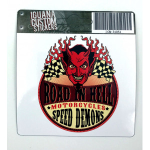 SPEED DEMONS DECAL 75 X 75 MM