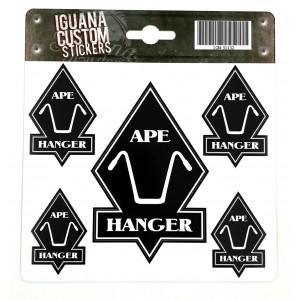 APE - HANGER DECAL 13 X 15 CM