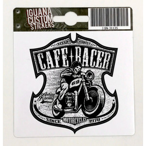CAFE RACER STICKER 1970 75...