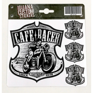 CAFE RACER 1970  DECAL 13 X...