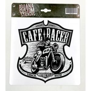 CAFE RACER STICKER 1970 -...