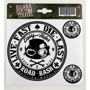 PEGATINA EASY RIDER - ROAD...