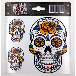 MEXICAN CALACA STICKER 13 X...