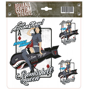 BOOMSHELL QUEEN - DECAL 17...