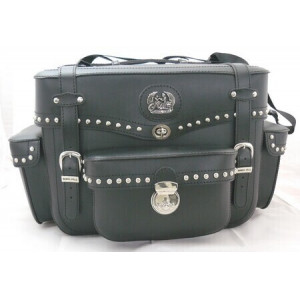 MOTORCYCLE REAR TRUNK WITH...