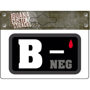 STICKER BLOOD GROUP B-...