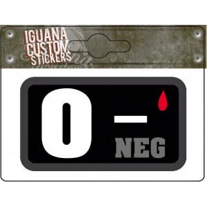 BLOOD GROUP STICKER 0-...