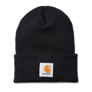CARHARTT WOOL HAT BLACK