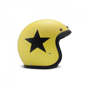 DMD VINTAGE STAR YELLOW HELMET