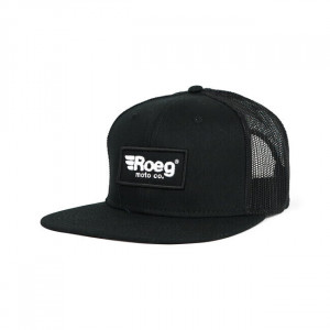 GORRA FLAT PANEL BLACK - ROEG