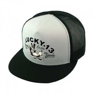 CAP MR. WOLF WHITE - LUCKY 13