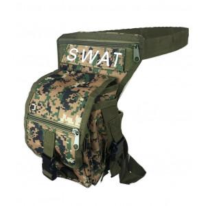 NYLON LEG BAG ARMY PIXEL