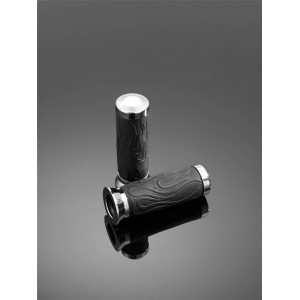 GRIPS FLAME RUBBER 22 MM