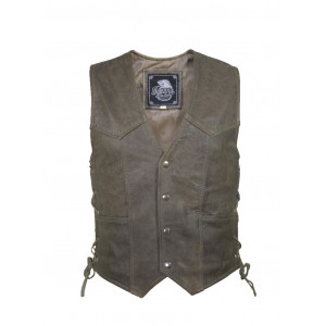MEN'S BASIC SIDE LACE VEST...
