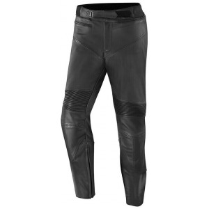 LEATHER PANTS WITH...