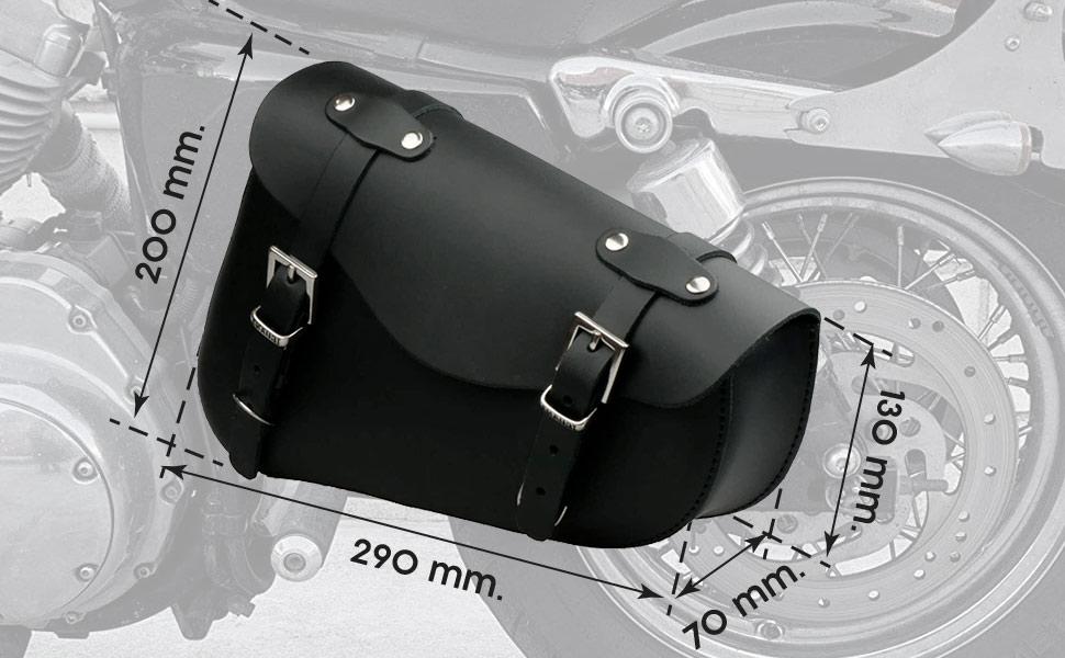 Sportster swingarm saddlebags dimensions