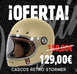 Oferta en cascos retro Stormer Origin