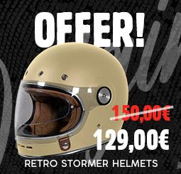 Offer on retro Stormer Origin helmets