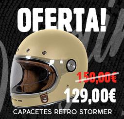 Oferta de capacetes Stormer Origin retrô