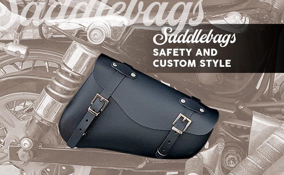 Harley-Davidson Sportster Leather Saddlebags